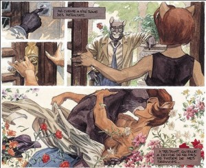 For example, this memory, from Blacksad