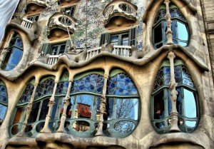 A Gaudi apartment building