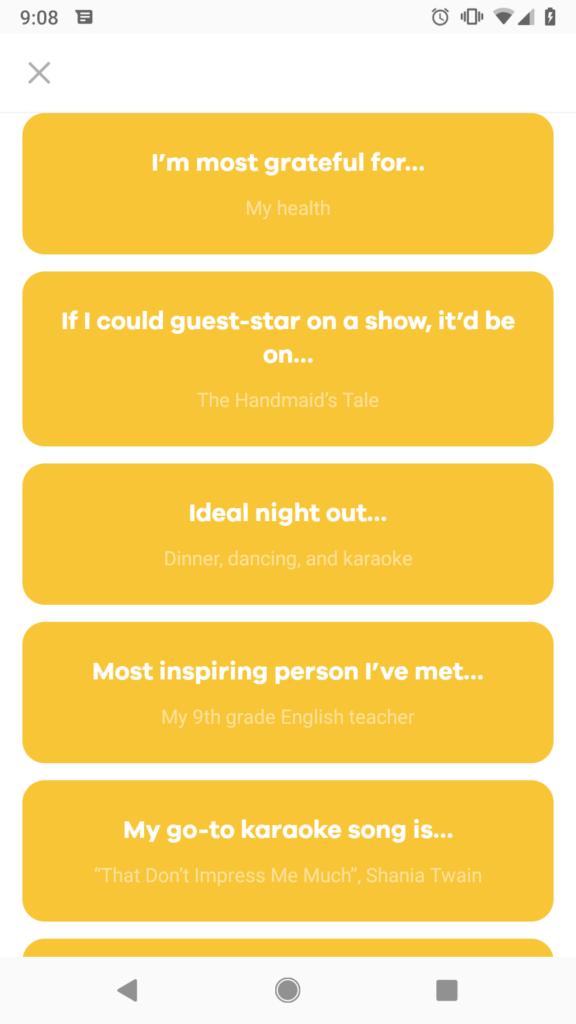 Karma dating app